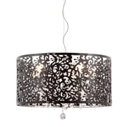 Zuo® 50034 Nebula 40 W Incandescent Ceiling Lamp, Black