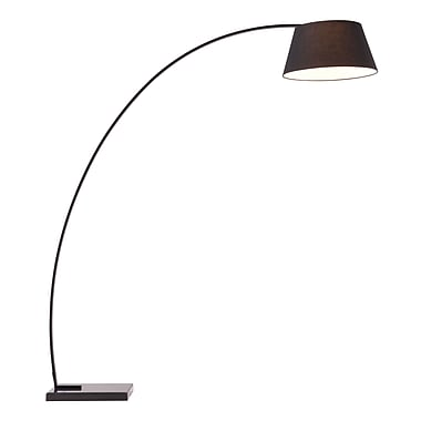 Zuo® 100 W Vortex Floor Lamp, Black