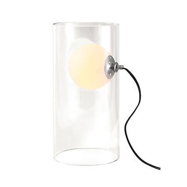 ZuoMD – Lampe de table Eruption en verre, 40 W, transparent