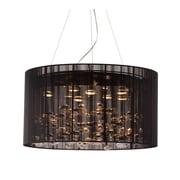 ZuoMD – Lampe halogène de plafond Symmetry 50085 de 50 W, noir