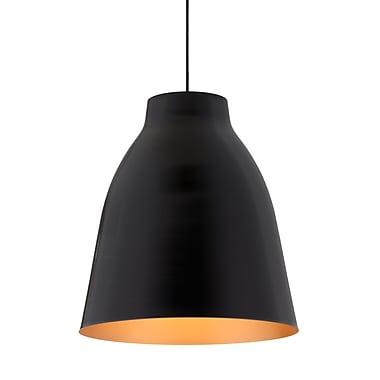 ZuoMD – Plafonnier incandescent Bronze 98246 de 60 W, noir mat