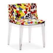 Zuo® Pizzaro Sponge Dining Chairs, Multicolor