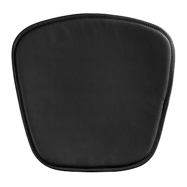 Zuo® Wire/Mesh Cushion, Black