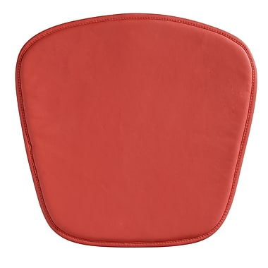 Zuo® Wire/Mesh Cushion, Red