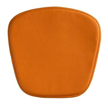 Zuo® Wire/Mesh Cushion, Orange