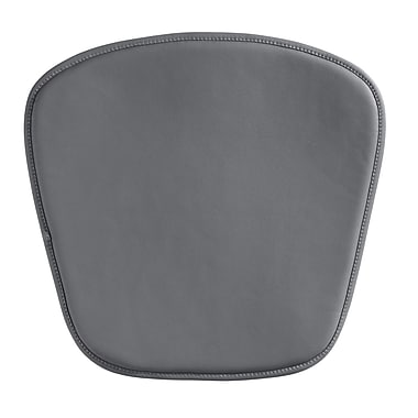 Zuo® Wire/Mesh Cushion, Gray