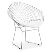 Zuo® Net Leatherette Dining Chairs, White