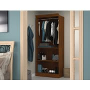"Versatile by Bestar 36"" Closet Storage Shell, Tuscany Brown"