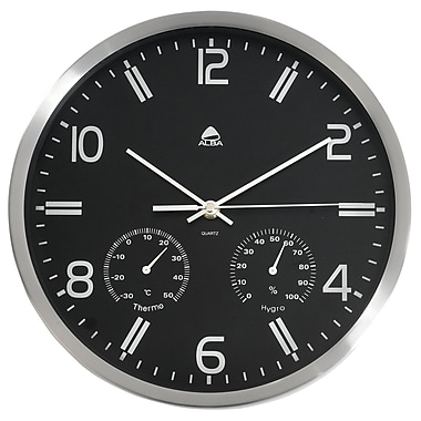 Alba Weather Quartz Wall Clock, Diameter:11,80