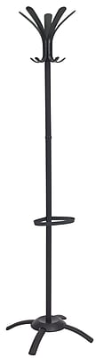 Alba Fashionable Floor Coat Stand, Black