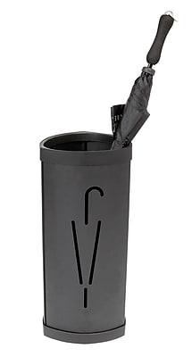 Alba Stylish Triangular Umbrella Stand, Black