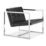 Zuo Carbon Steel Lounge Chair (5000)