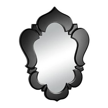 ZuoMD – Miroir suspendu Vishnu, 20 1/2 x 25 1/2 po, noir
