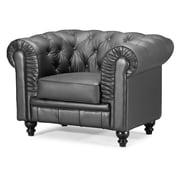 Zuo® Aristocrat Leather Armchairs