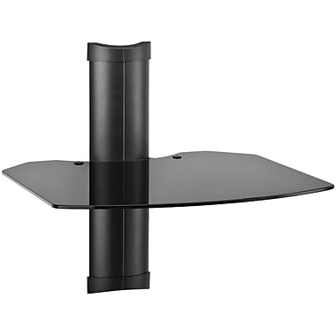 OmniMount® TRIA 1 B Tria 1-Shelf Wall Furniture System, Black