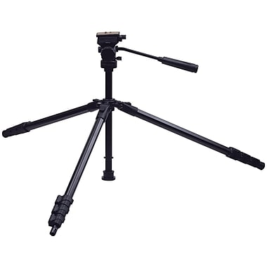 Targus® Red TG-P60TW 3-Way Panhead and Bubble Level Tripod, Black