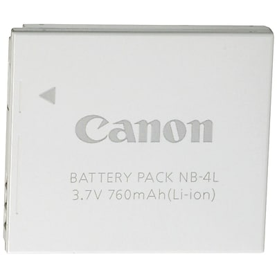 Canon® 9763A001AA 3.7 VDC 550 mAh Lithium-ion Rechargeable Replacement Battery