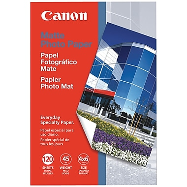 Canon® 7981A014AA Matte Photo Paper, 4