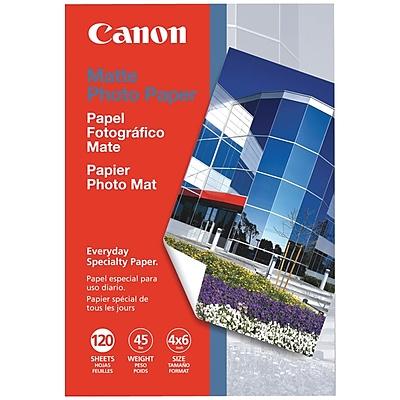 "Canon® Matte Photo Paper, 4"" x 6"" (7981A014AA)"