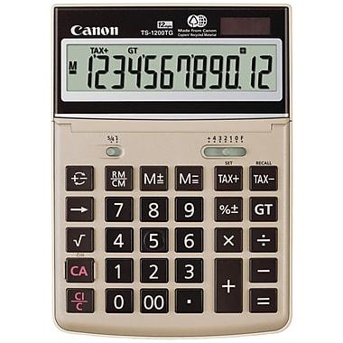 Canon® TS-1200TG 12-Digit Display Desktop Calculator