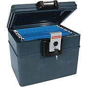 First Alert® 2037F 0.62 cu. ft. Fire and Water File Chest, Slate