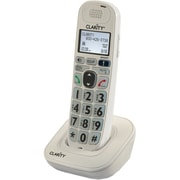 Clarity D704HS Single Line Cordless Office Telephone, White