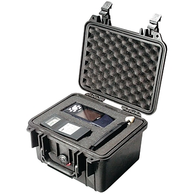Pelican Case W/Foam, Black (PLO1300110)