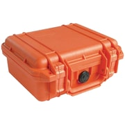 Pelican 1200 Case With Foam, Orange