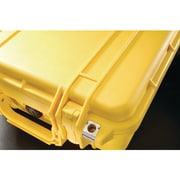 Pelican 1400 Case With Foam, Yellow