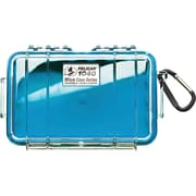 Pelican 1040 Waterproof Case, Blue/Clear