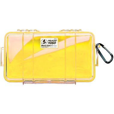 Pelican Micro Case, Yellow (PLO1060025240)