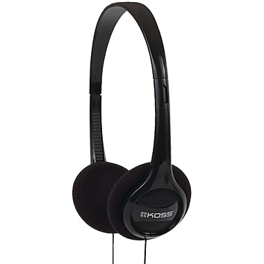 Koss KPH7 Over-Ear Portable Stereo Headphone, Black