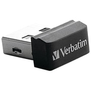 Verbatim Store 'n' Stay VTM97464 16GB USB 2.0 Nano Flash Drive, Black