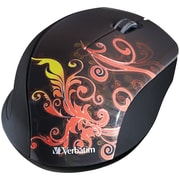 Verbatim® Wireless Optical Mouse Burnt Orange Design