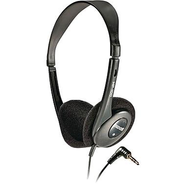 Maxell HP-100 Stereo Dynamic Open Air On-Ear Headphone, Black (MXL190319)