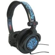 Maxell 190265 Amplified Heavy Bass Over-Ear Headphone, Blue