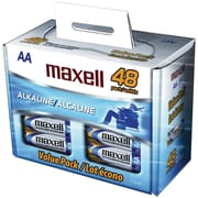 Maxell® LR648B AA Alkaline Battery, 48/Pack