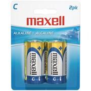 Maxell® LR142BP C Alkaline Battery, 2/Pack