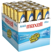 Maxell® LR0320MP AAA Alkaline Battery, 20/Pack