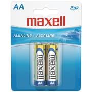Maxell® LR62BP AAA Alkaline Battery, 2/Pack