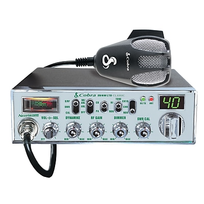 Cobra® Classic™ 29 NW CB Radio With NightWatch® Display