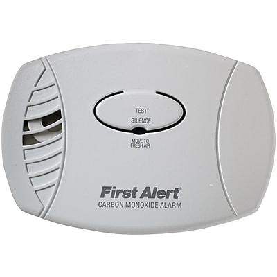 First Alert® Carbon Monoxide Plug-In Alarm Without Backup or Display