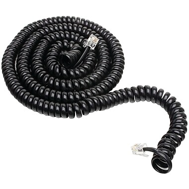 GE JAS76139 25' Conductor Coil Cord, Black