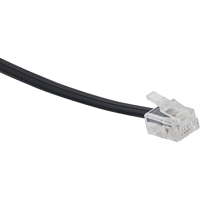 GE 15' 4 Conductor Line Cord; Black