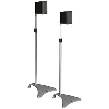 Atlantic Speaker Stand, 2/Pack (ATLSPSCUR47)
