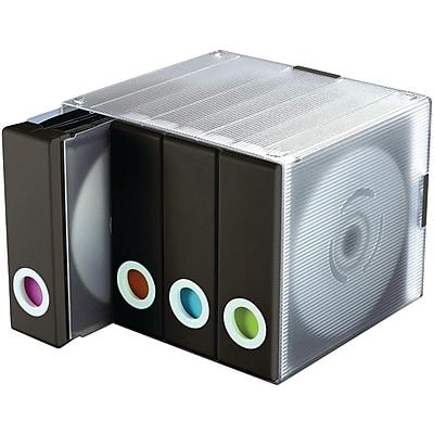Atlantic® 96635496 96-Disc Album Cube, Black