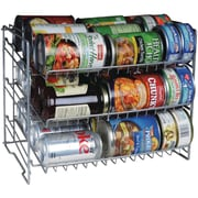 Atlantic 3-Tier Canrack, Silver (ATL23235594)
