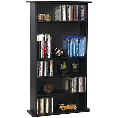 Atlantic® Drawbridge CD and DVD Multimedia Cabinet