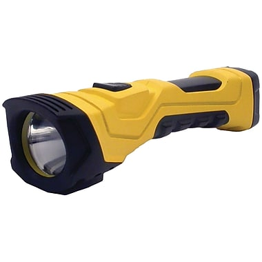 Dorcy 5 Hour 180 Lumens LED Cyber Light Flashlight, Yellow/Black (DCY414750)