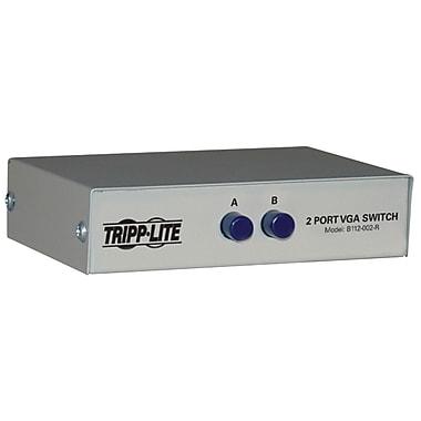 Tripp Lite B112-002-R Push-Button Switch, 2 Port